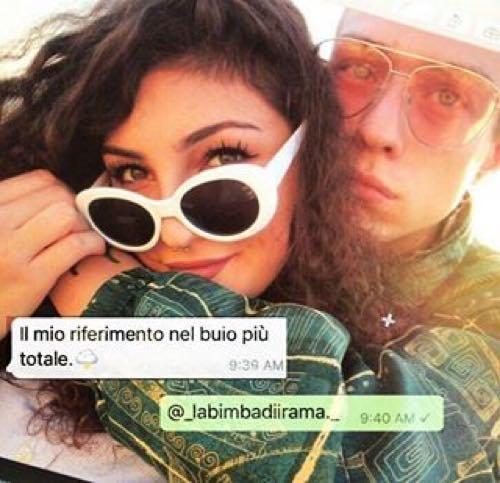 Irama e Giulia insieme ma arriva il commento al veleno dell'ex fidanzata di lui
