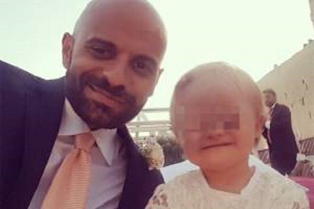 Luca Trapanese padre single e gay adotta una bambina down