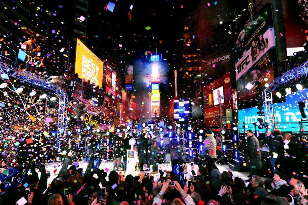 Come entrare a Times Square a New York a capodanno?