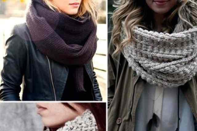 Come si indossa la maxi sciarpa un must per l'inverno?