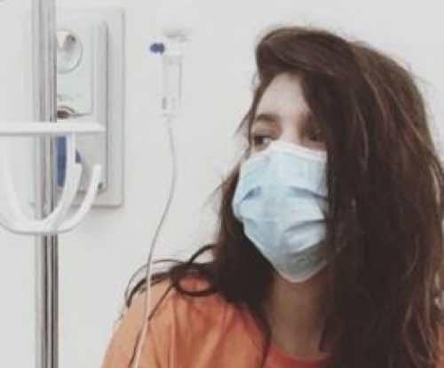 La figlia di Giancarlo Magalli ricoverata in ospedale ora ha una mascherina