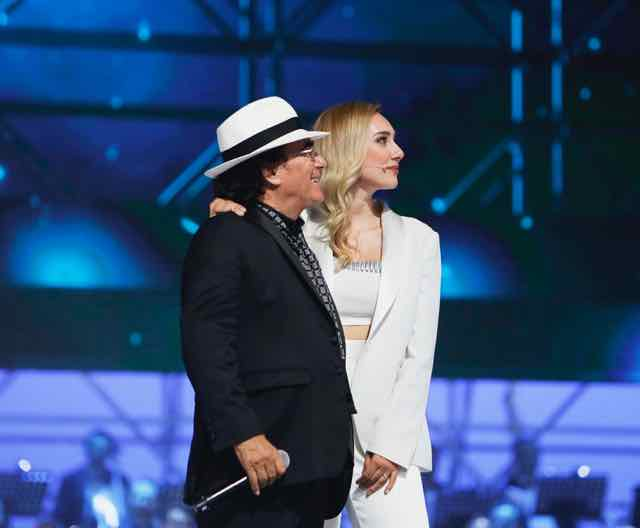 Albano 55 passi nel sole con Romina Power per i 55 anni di carriera