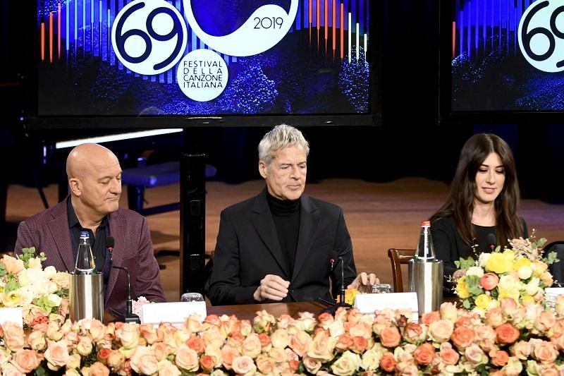 Sanremo 2019 ecco quanto guadagnano i conduttori Baglioni, Bisio e Raffaele e gli ospiti