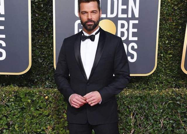 Ricky Martin Golden Globe 2019 il look sul red carpet e i vincitori