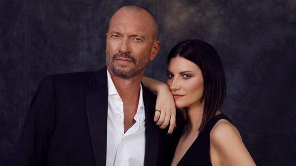 Alessia Marcuzzi intervista Laura Pausini e Biagio Antonacci a Le Iene