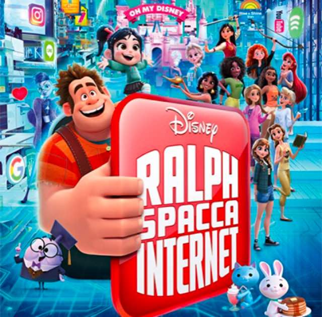 Disney Ralph Spacca Internet conquista il box office italiano è il film più visto