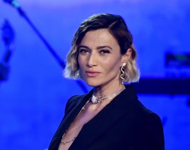 Anna Foglietta ospite all'Ariston con l'Alta Gioielleria Pasquale Bruni