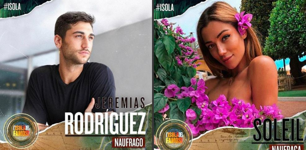 Soleil Sorge bacia Jeremias Rodriguez all'isola parola di Alessia Marcuzzi
