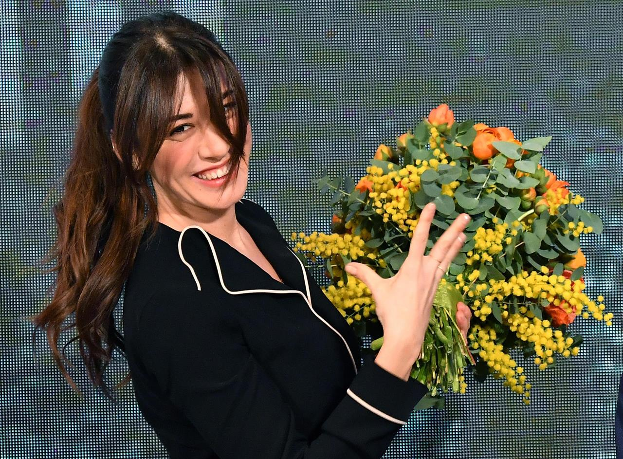 Abito Virginia Raffaele seconda serata Sanremo 2019 stilista e look