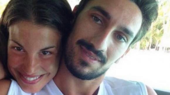 Il ricordo di Davide Astori e le lacrime della compagna Francesca