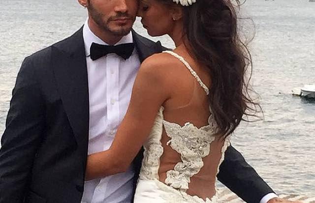 Belen e Stefano sono una coppia lei sceglie l'abito da sposa?