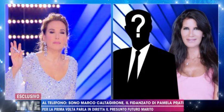 Matrimonio Pamela Prati Barbara D'Urso dice la verità sulla telefonata con Marco Caltagirone