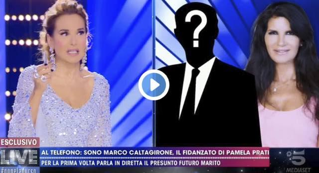 """Marco Caltagirone parla a Live Non è La D'Urso parla per la prima volta:""""Si sposo Pamela"""""""