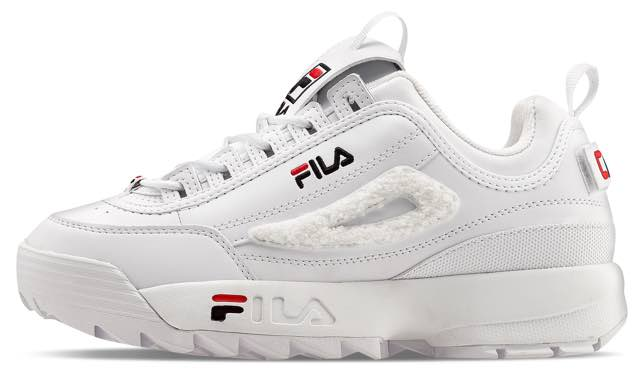 La nuova sneaker Fila con dettagli in patch removibili