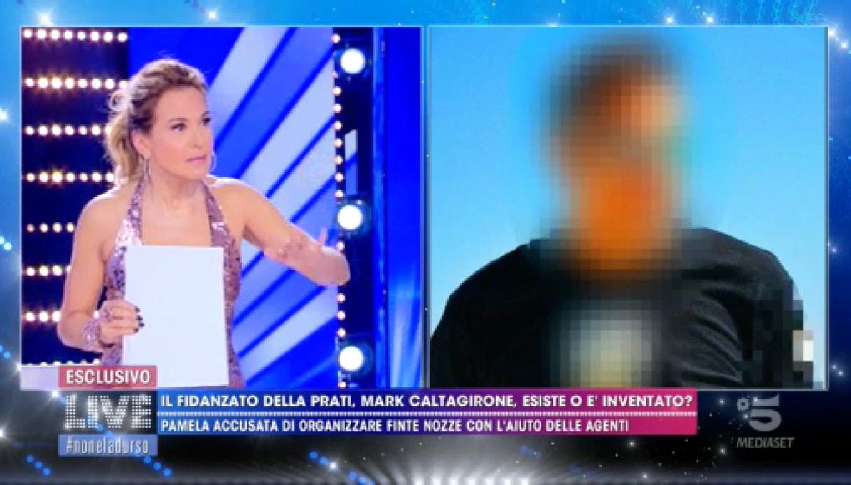 Non è la D'Urso arriva Marco Caltagirone per parlare del matrimonio con Pamela Prati