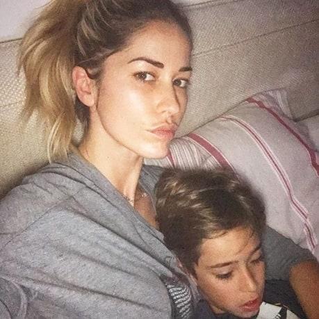 """Elena Santarelli e il tumore del figlio:""""L'ho visto era orrendo"""""""