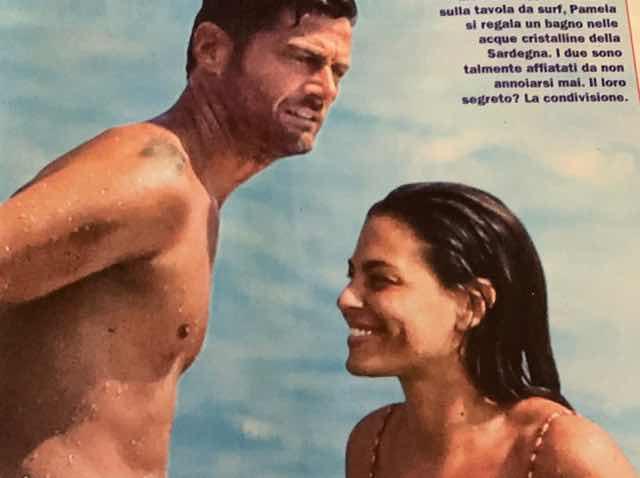 Filippo Bisciglia in costume al mare con la fidanzata e la voglia di diventare papà