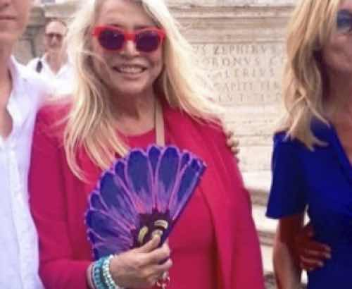 Mara Venier abito matrimonio figlio Paolo che stilista ha scelto?