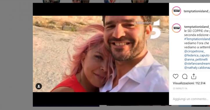 Stefano Macchi chi è il fidanzato di Anna Pettinelli di Temptation island Vip