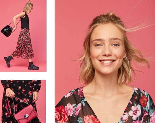 La moda donna si tinge di colori floreali con abiti chic