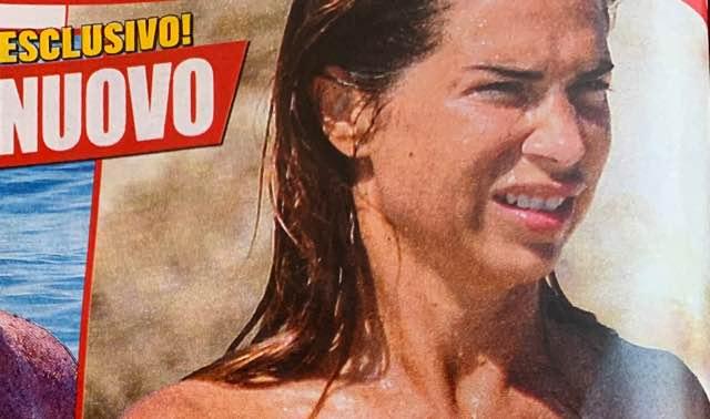 Veronica Maya in topless al mare fa impazzire tutta la spiaggia