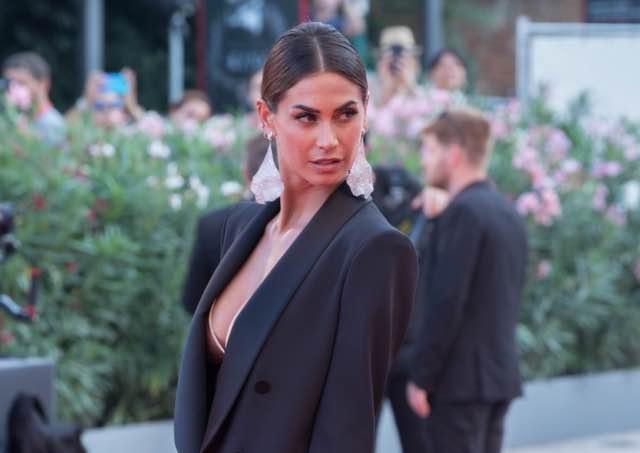 Melissa Satta sul red carpet del Festival di Venezia 2019 abito e look