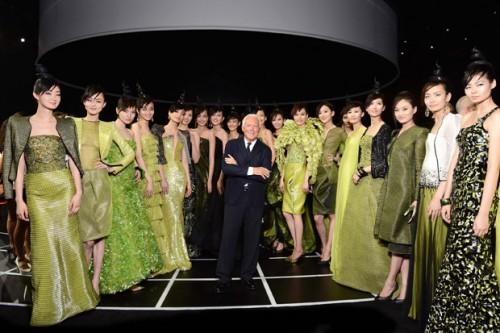Sfilata Giorgio Armani in streaming Milano Moda donna settembre 2019