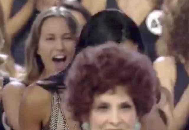 Carolina Stramare Miss Italia 2019 impallata dalla Lollobrigida durante la proclamazione