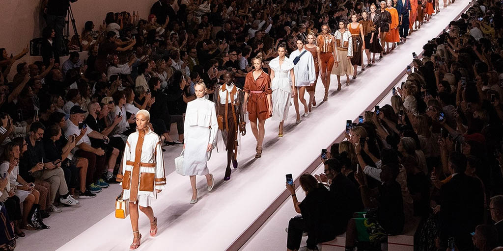 Sfilata Fendi streaming settembre 2019 Milano moda donna