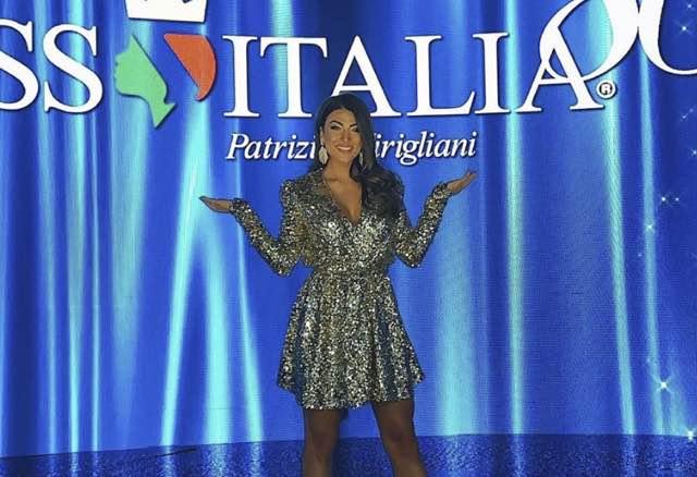 Giulia Salemi a Miss Italia e la proposta al bellissimo Bruno Cerella